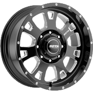 SOTA Wheels <br /> 570DM Brawl Death Metal Black