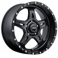 SOTA 567SB F.I.T.E. Stealth Black Wheels