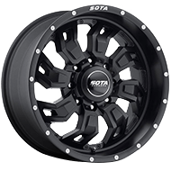 SOTA Wheels<br /> 566SB S.C.A.R. Stealth Black