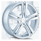 Sacchi Wheels<br /> S62 HyperSilver