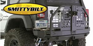 Smittybilt XRC Atlas Bumpers <br>Rear Bumpers for 07-17 Wrangler JK