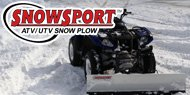 SnowSport<br /> ATV Snow Plows