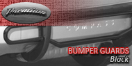 Premium <br>Bumper Guard - Black
