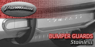Premium <br>Bumper Guard - Stainless Steel