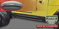 Premium Jeep Product - Rock Guard Black