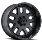 TIS Wheels <br />539B Satin Black