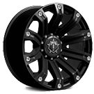 TIS Wheels<br /> 534B Satin Black