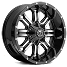 TIS Wheels<br /> 535MB Gloss Black