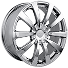 Touren Wheels<br /> TR3 Chrome