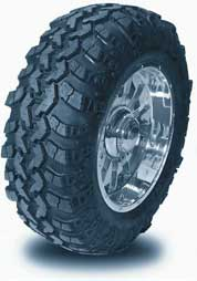 off road truck tire