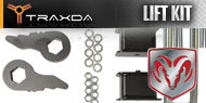 Traxda Dodge Front and Rear Lift Kits