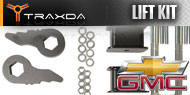 Traxda Chevy/GMC Front and Rear Lift Kits