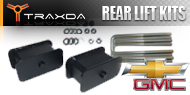 Chevy/GMC <br />Traxda Rear Lift Block & Spacer Kits