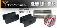 Dodge <br />Traxda Rear Lift Block & Spacer Kits