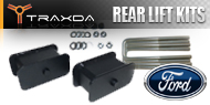 Ford <br />Traxda Rear Lift Block & Spacer Kits