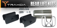 Honda <br />Traxda Rear Lift Block & Spacer Kits