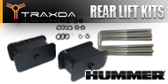 Hummer <br />Traxda Rear Lift Block & Spacer Kits