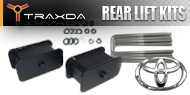 Toyota <br />Traxda Rear Lift Block & Spacer Kits
