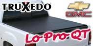 Chevy GMC TruXedo Lo Pro QT Tonneau Covers