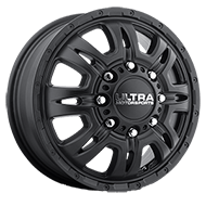 Ultra Wheels <br />049SB Predator Dually Front Satin Black