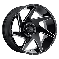 Ultra 206BM Vortex Gloss Black Wheels