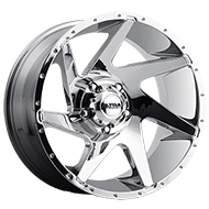 Ultra Wheels<br /> 206C Vortex Chrome Plated