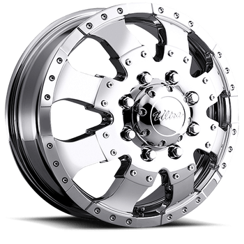 Ultra 023 Dually Front Chrome Wheels