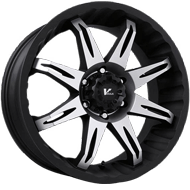 V-Rock VR5 Core Wheels Matte Black