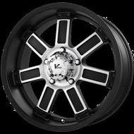 V-Rock Diesel Wheels Black Machine