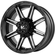 V-Rock Reactor Wheels Matte Black
