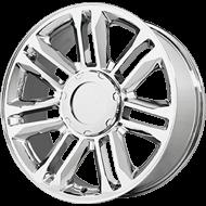 Topline Replicas V1165 Platinum Escalade Wheels