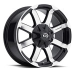 Vision Offroad Valor 413 <br>Gloss Black Machined Face