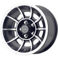 American Racing VN Wheels VN47 Vector Satin Black