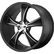 American Racing VN Wheels VN805 BLVD Satin Black