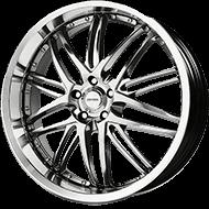 Verde V55 Kaos Hyper Silver Wheels