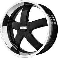 Verde Wheels <br /> Skylon <br /> Gloss Black Machined