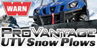 WARN UTV Snow Plows