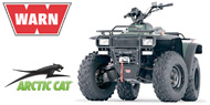 WARN Mounting Systems for Arctic Cat ATVs