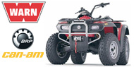WARN Mounting Systems for Bombardier ATVs