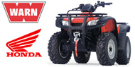WARN Mounting Systems for Honda ATVs