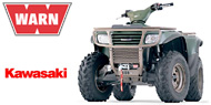 WARN Mounting Systems for Kawasaki ATVs