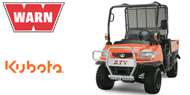 WARN Mounting Systems for Kubota RTVs