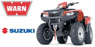 WARN Mounting Systems for Suzuki ATVs