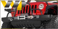 Warrior Jeep - Rock Crawler Bumpers