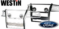 Westin Sportsman <br/> Winch Mount Grille Guard <br/> Ford