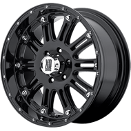 KMC XD795 Hoss Gloss Black Wheels
