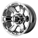 XD796 Revolver Wheels <br> Chrome