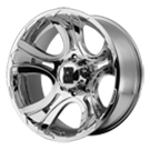 XD801 Crank Wheels <br> Chrome
