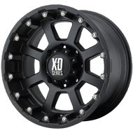 XD807 Strike Wheels <br> Matte Black