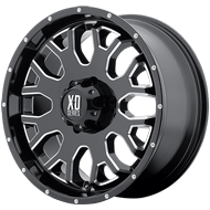 XD808 Menace Wheels <br> Gloss Black